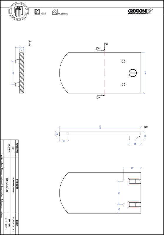 Proizvod CAD file MANUFAKTUR segmentni rez TURMBIBER