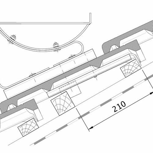 Tehnički crtež proizvoda HEIDELBERG FUK PROFILIERTE-BDS