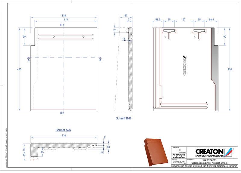 Proizvod CAD file KAPSTADT rubni lijevi OGL-90