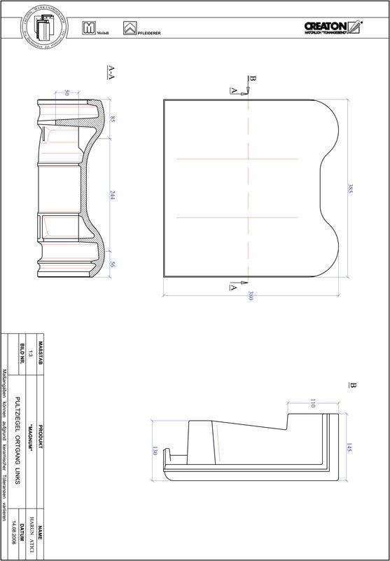 Proizvod CAD file MAGNUM pult crijep rubni lijevi PULTOGL