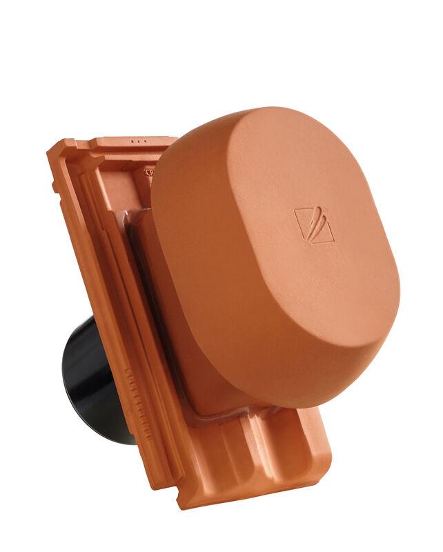 RUS SIGNUM keramički odzračnik 125 mm sa pomičnim poklopcem, adapter za foliju i fleksibilno crijevo