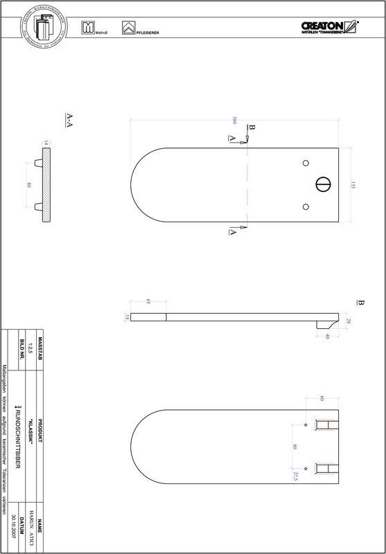 Proizvod CAD file KLASSIK zaobljeni RUND-3-4