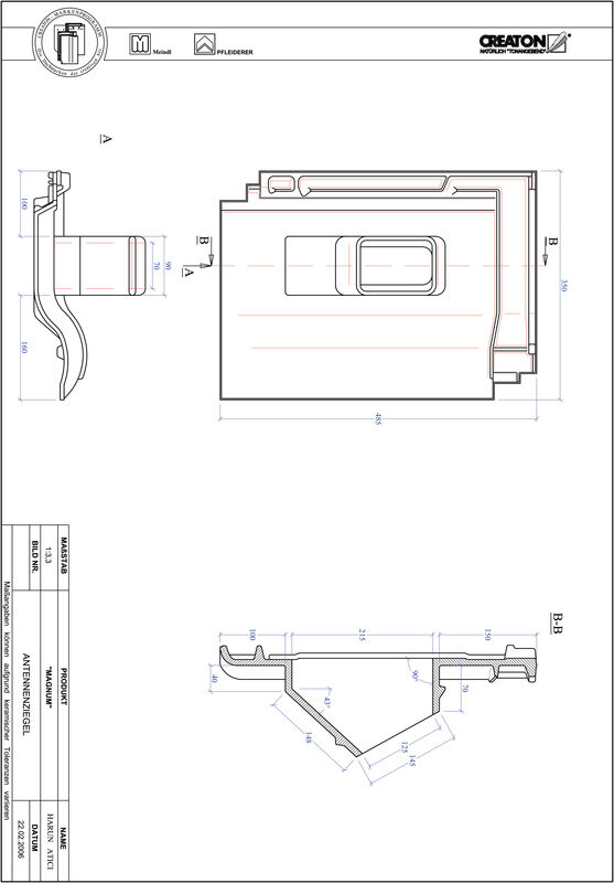 Proizvod CAD file MAGNUM antena ANTENNE