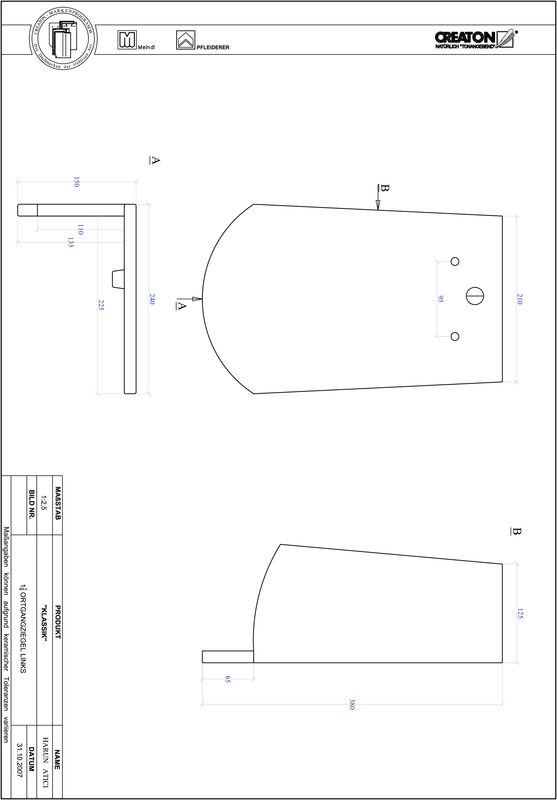 Proizvod CAD file KLASSIK zaobljeni RUND-OGL-1-1-4