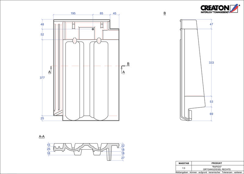 Proizvod CAD file RAPIDO rubni desni OGR