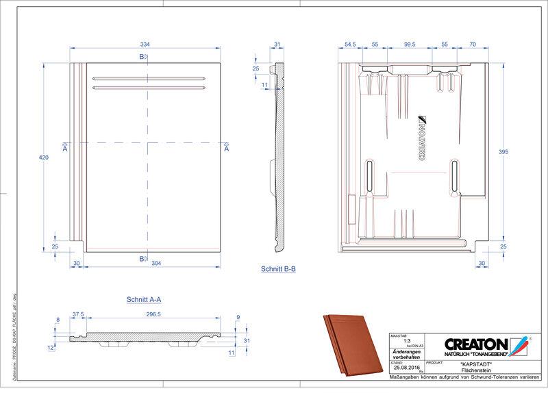 Proizvod CAD file KAPSTADT  Faechenstein