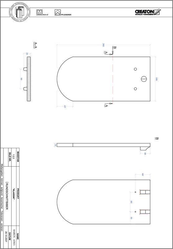 Proizvod CAD file KLASSIK zaobljeni RUND-1-1