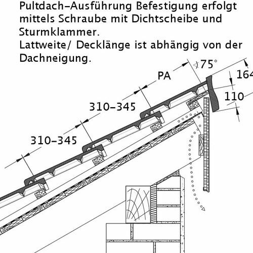Tehnički crtež proizvoda HEIDELBERG PDA PROFILIERTE-BDS