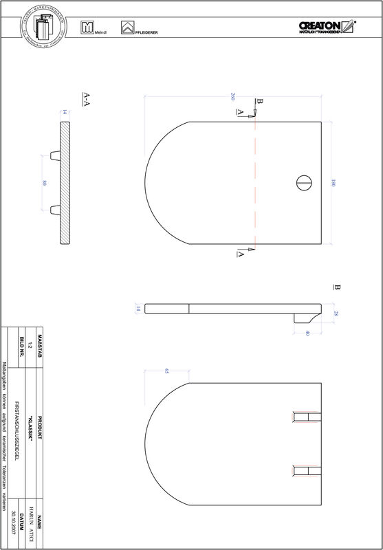 Proizvod CAD file KLASSIK zaobljeni RUND-FAZ