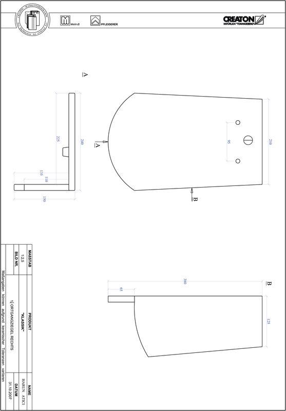 Proizvod CAD file KLASSIK zaobljeni RUND-OGR-1-1-4