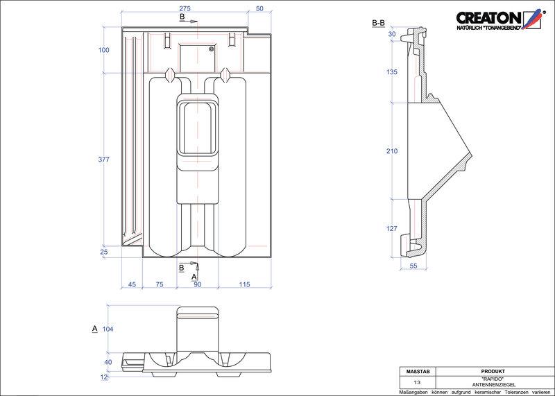 Proizvod CAD file RAPIDO antena ANTENNE