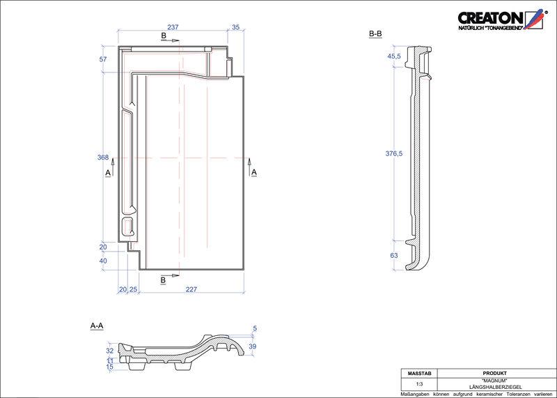 Proizvod CAD file MAGNUM polovica crijepa LH