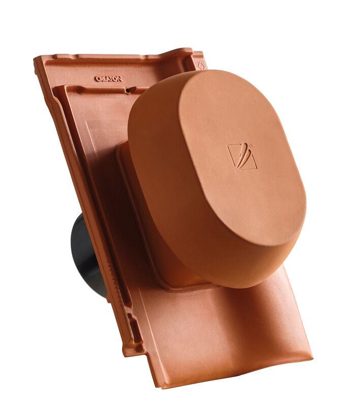BAL SIGNUM keramički odzračnik 125 mm sa pomičnim poklopcem, adapter za foliju i fleksibilno crijevo
