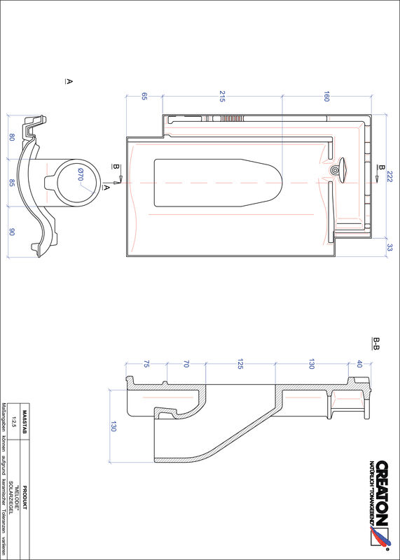 Proizvod CAD file MELODIE prolaz cijevi solarnog kolektora SOLAR
