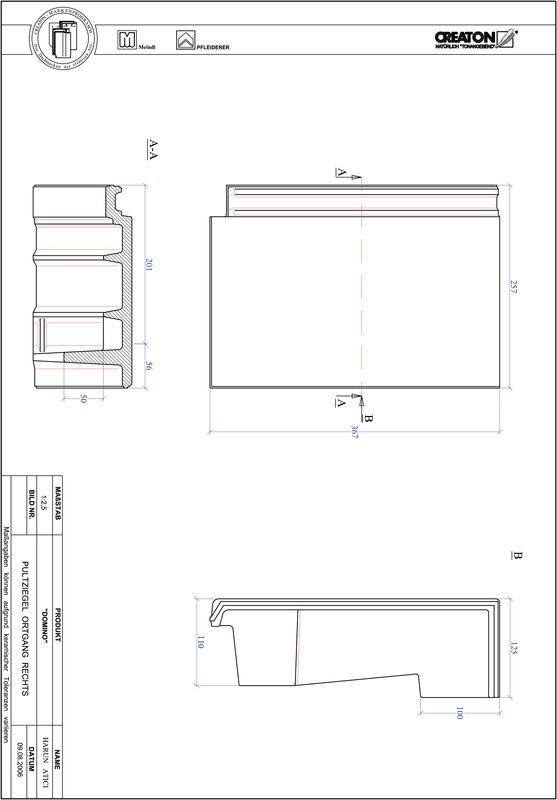 Proizvod CAD file DOMINO pult crijep rubni desni PULTOGR