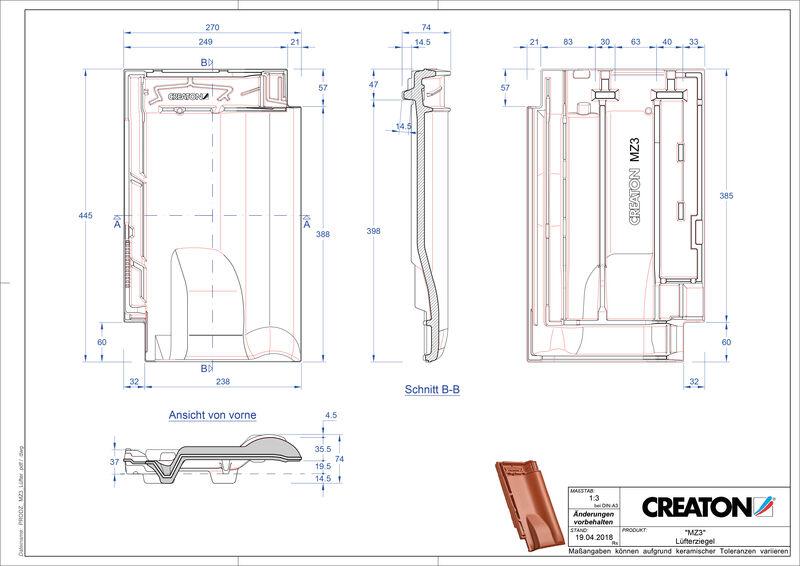 Proizvod CAD file MZ3 NEU odzračnik LUEFTZ