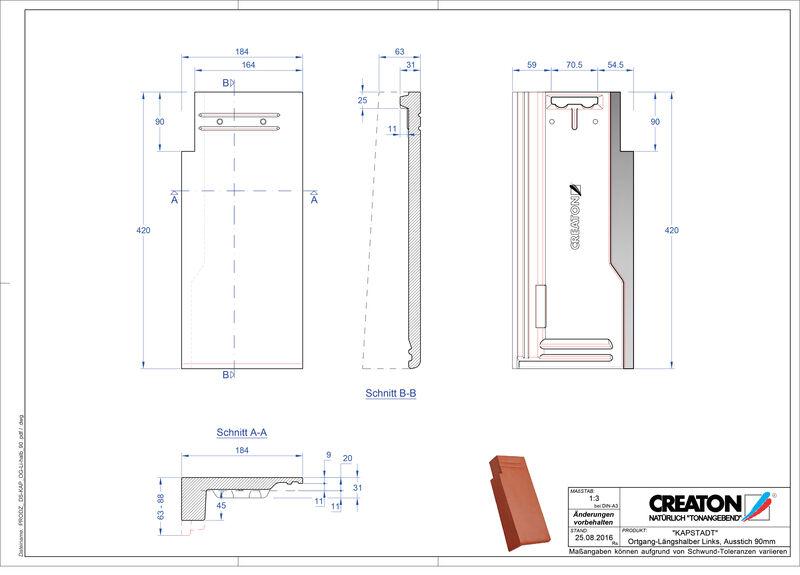 Proizvod CAD file KAPSTADT rubni lijevi OGL-halb-90