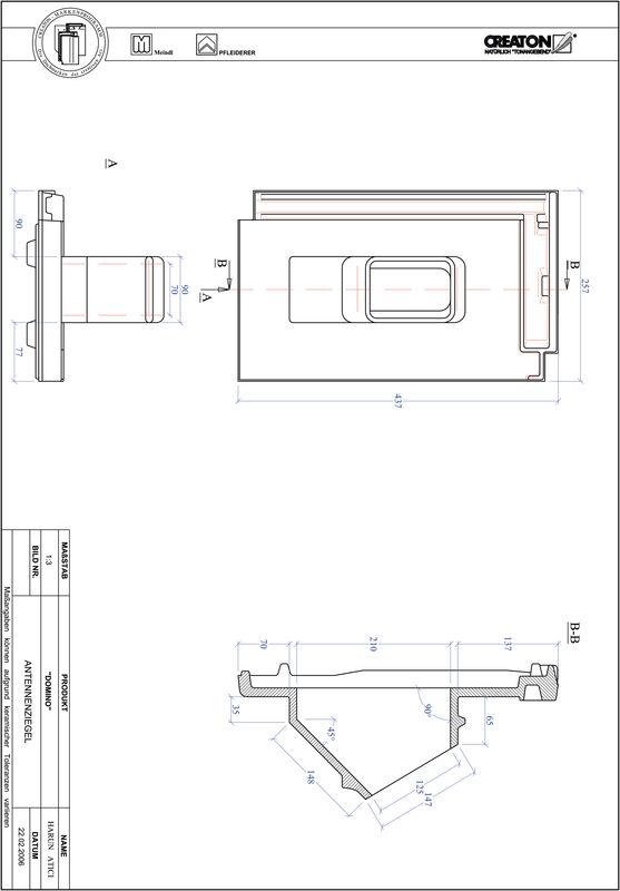 Proizvod CAD file DOMINO antena ANTENNE