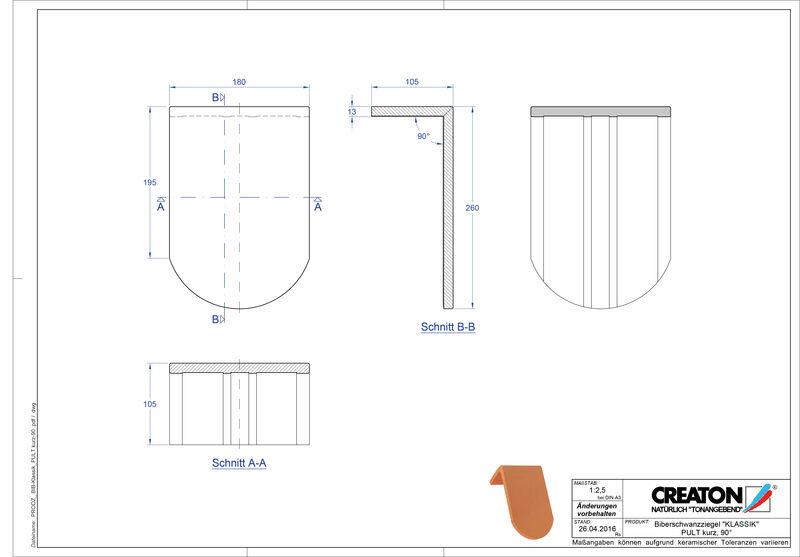Proizvod CAD file KLASSIK zaobljeni RUND-PULT-kurz