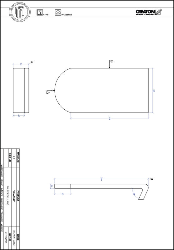 Proizvod CAD file KLASSIK zaobljeni RUND-PULT-lang1