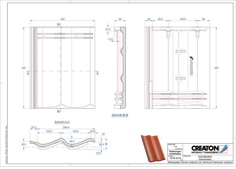 Proizvod CAD file GÖTEBORG  Flaechenstein