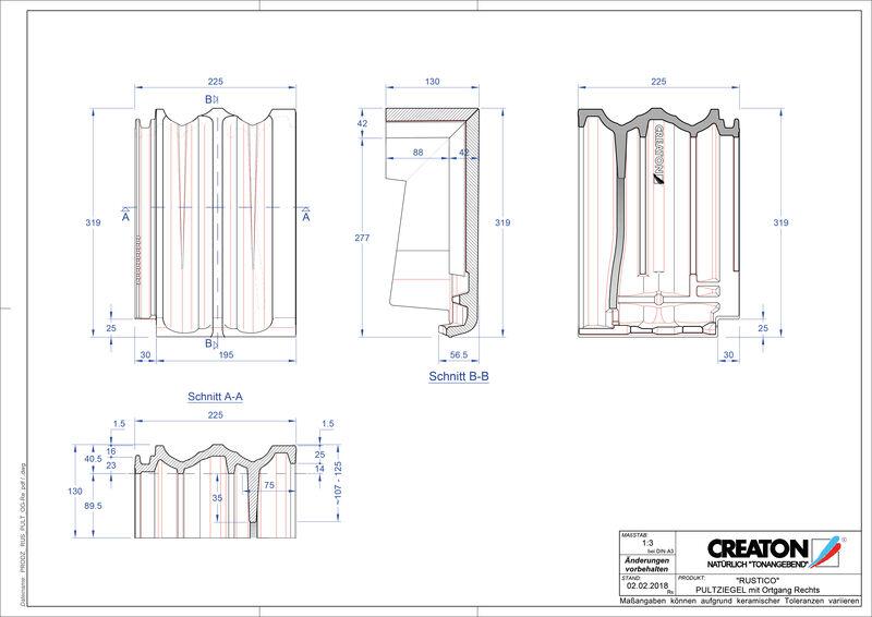 Proizvod CAD file RUSTICO pult crijep rubni desni PULTOGR