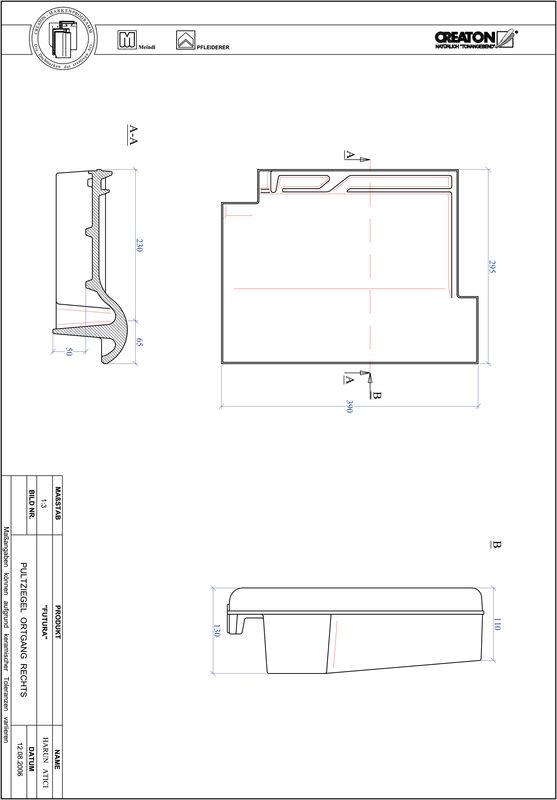 Proizvod CAD file FUTURA pult crijep rubni desni PULTOGR