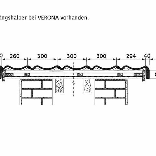 Tehnički crtež proizvoda VERONA ORL PROFILIERTE-BDS