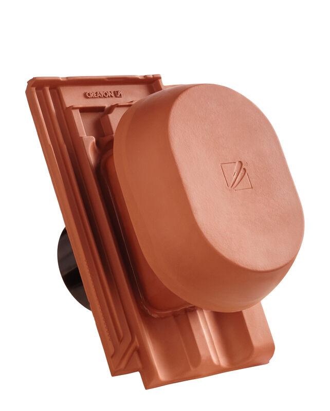 RAT HÖN SIGNUM keramički odzračnik 125 mm sa pomičnim poklopcem, adapter za foliju i fleksibilno crijevo