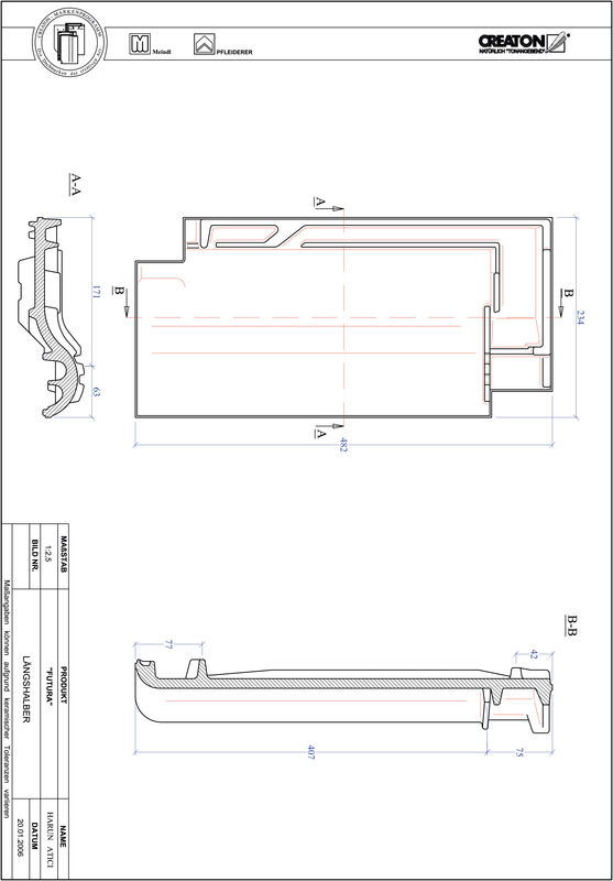 Proizvod CAD file FUTURA polovica crijepa LH
