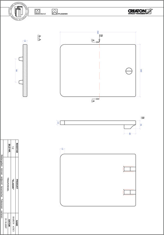 Proizvod CAD file KLASSIK zaobljeni RUND-TRAUFZIEGEL