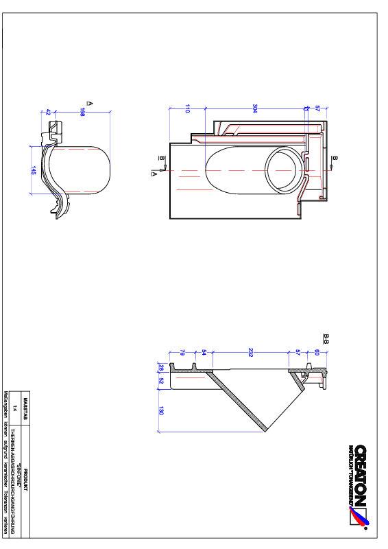 Proizvod CAD file SINFONIE dimovodni crijep THERME