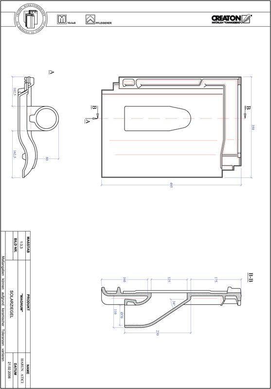 Proizvod CAD file MAGNUM prolaz cijevi solarnog kolektora SOLAR