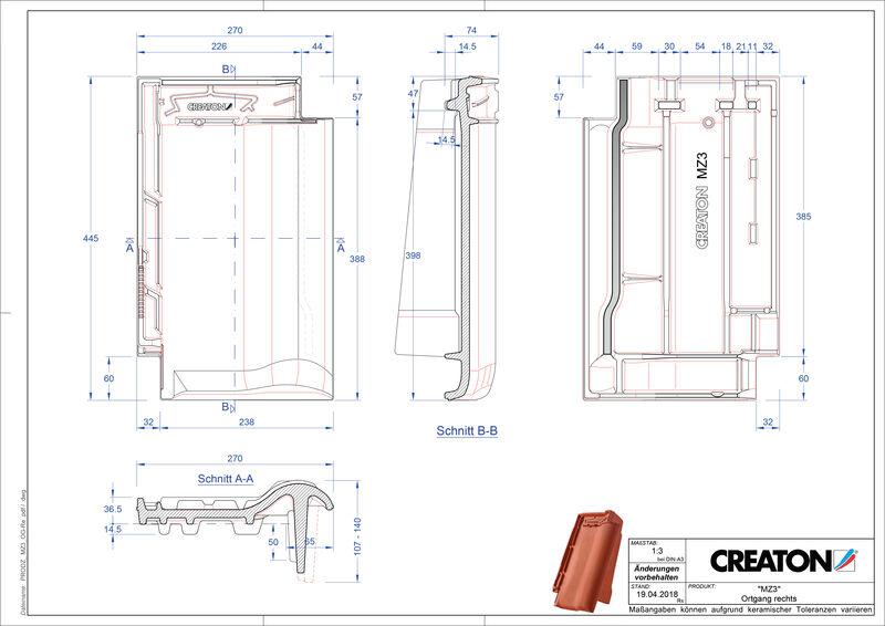 Proizvod CAD file MZ3 NEU rubni desni OGR