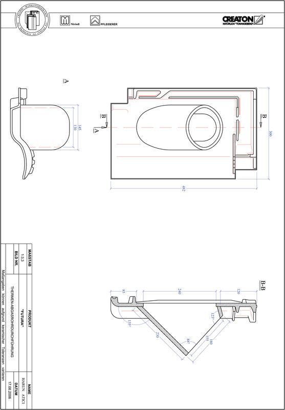 Proizvod CAD file FUTURA dimovodni crijep THERME