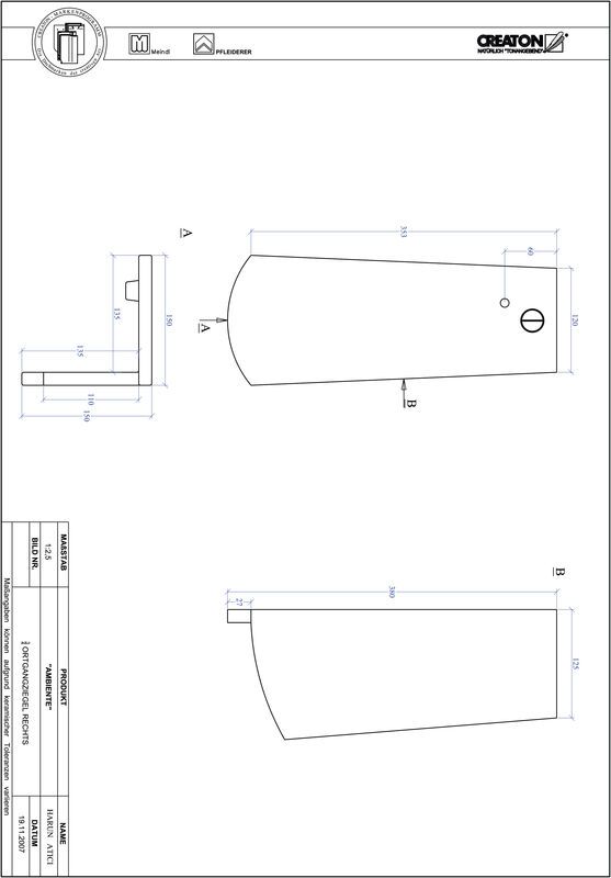 Proizvod CAD file AMBIENTE segmentni rez SEG-OGR-3-4
