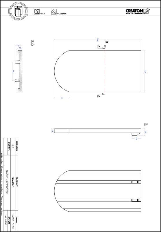 Proizvod CAD file KLASSIK zaobljeni RUND-FLUEFTZ