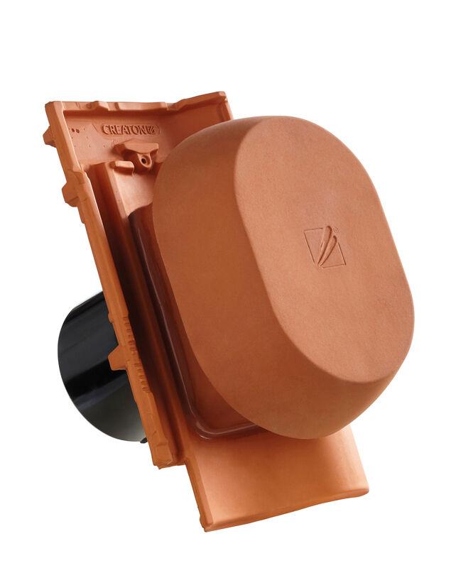 MEL SIGNUM keramički odzračnik 125 mm sa pomičnim poklopcem, adapter za foliju i fleksibilno crijevo