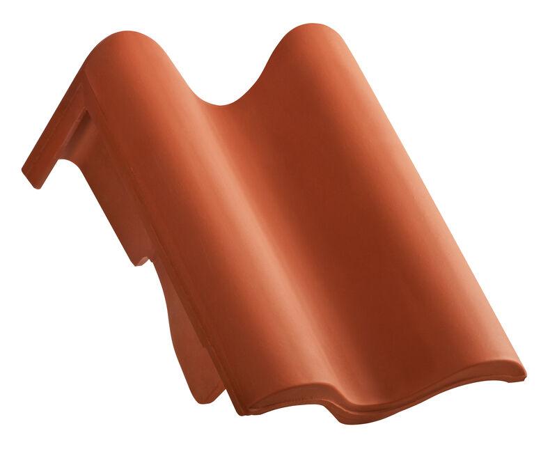 MEL za jednostrešni krov, rubni crijep desni