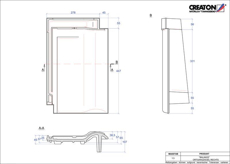 Proizvod CAD file BALANCE rubni desni OGR