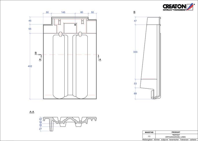Proizvod CAD file RAPIDO rubni lijevi OGL