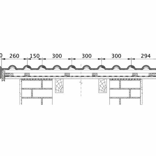 Tehnički crtež proizvoda HEIDELBERG ORL PROFILIERTE-BDS