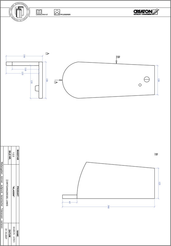 Proizvod CAD file KLASSIK zaobljeni RUND-OGL-3-4