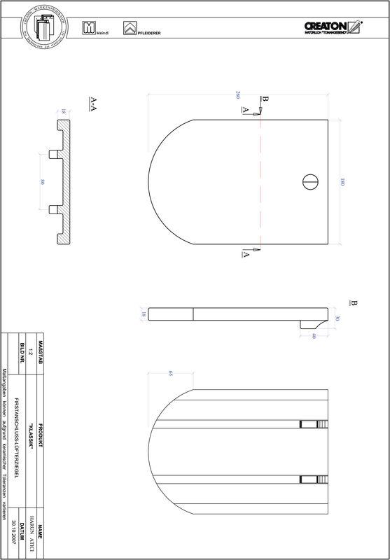 Proizvod CAD file KLASSIK zaobljeni RUND-FALZ