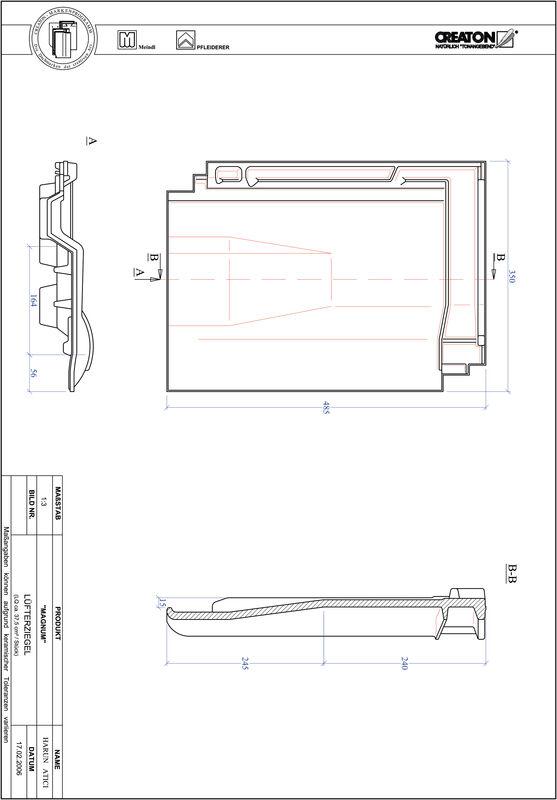 Proizvod CAD file MAGNUM odzračnik LUEFTZ