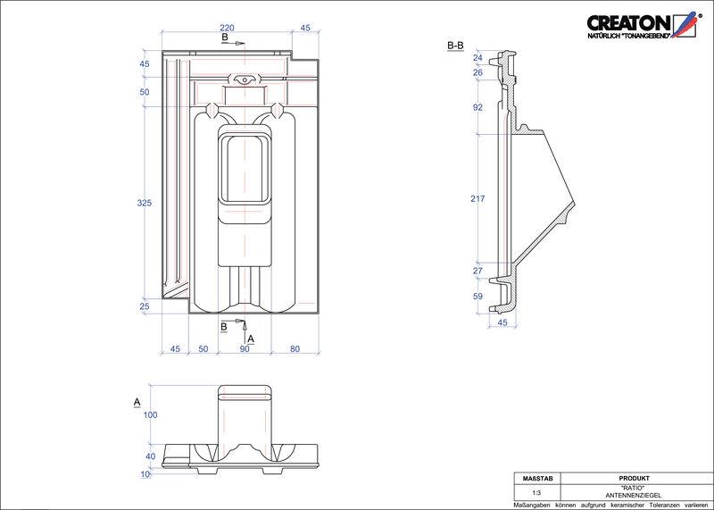 Proizvod CAD file RATIO antena ANTENNE
