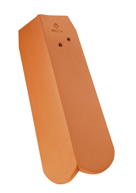 KLASSIK zaobljeni kroj rubni crijep 5/4 lijevi sa dugim zabatom cca. 11 cm