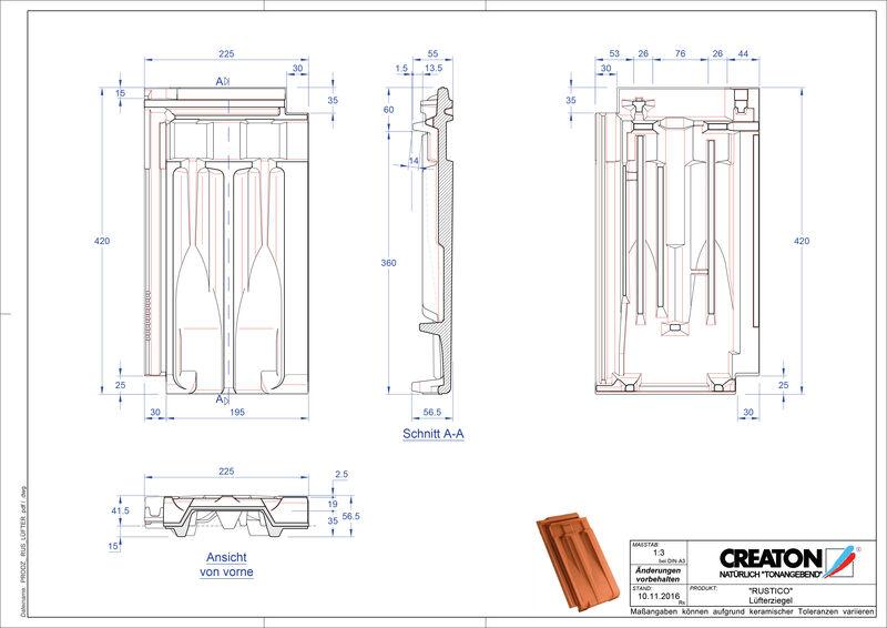 Proizvod CAD file RUSTICO odzračnik LUEFTZ