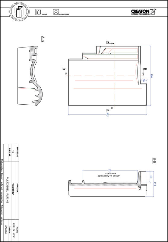 Proizvod CAD file SINFONIE pult crijep PULTFLA