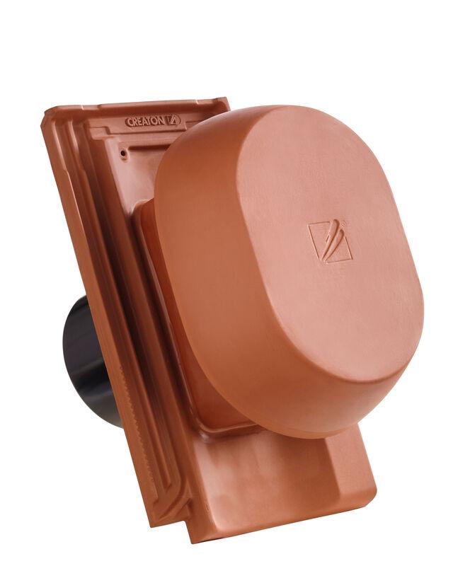 OPT SIGNUM keramički odzračnik 125 mm sa pomičnim poklopcem, adapter za foliju i fleksibilno crijevo